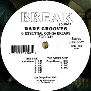 Unknown Artist - Rare Grooves & Essential Drum Conga Breaks